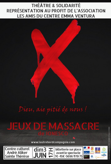 JEUX DE MASSACRE / NOUVELLE DATE