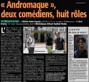 Nelson Rafell Madel Andromaque