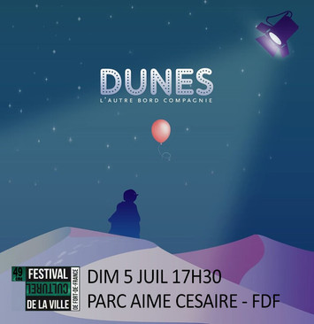 DUNES AU FESTIVAL CULTUREL DE FORT-DE-FRANCE