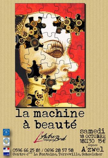La Machine à beauté: première!