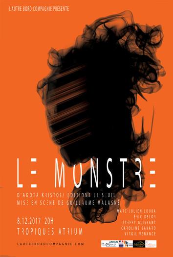 LE MONSTRE, L'AFFICHE