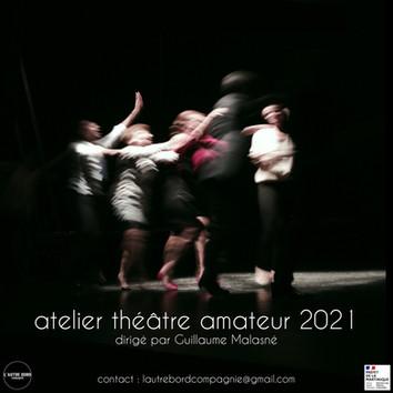 RENTRÉE 2021 : ATELIERS AMATEURS