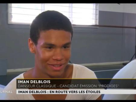 REPORTAGE DE MARTINIQUE LA 1ÈRE : IMAN DELBOIS