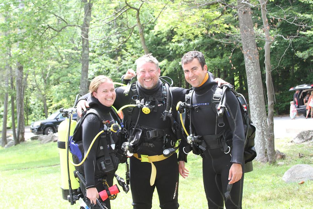 Hamden Scuba, Lake George, Drive and Dive, Scuba