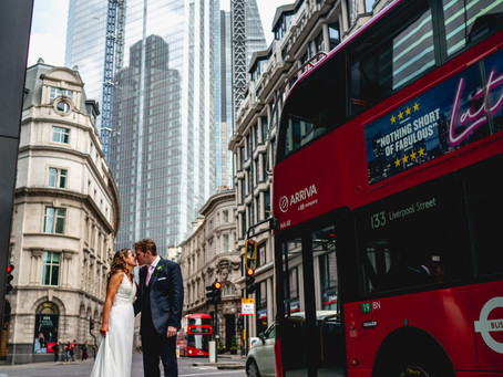 Church Wedding - wildly romantic and whimsical, in traditional venue at Merchant Taylors Hall London