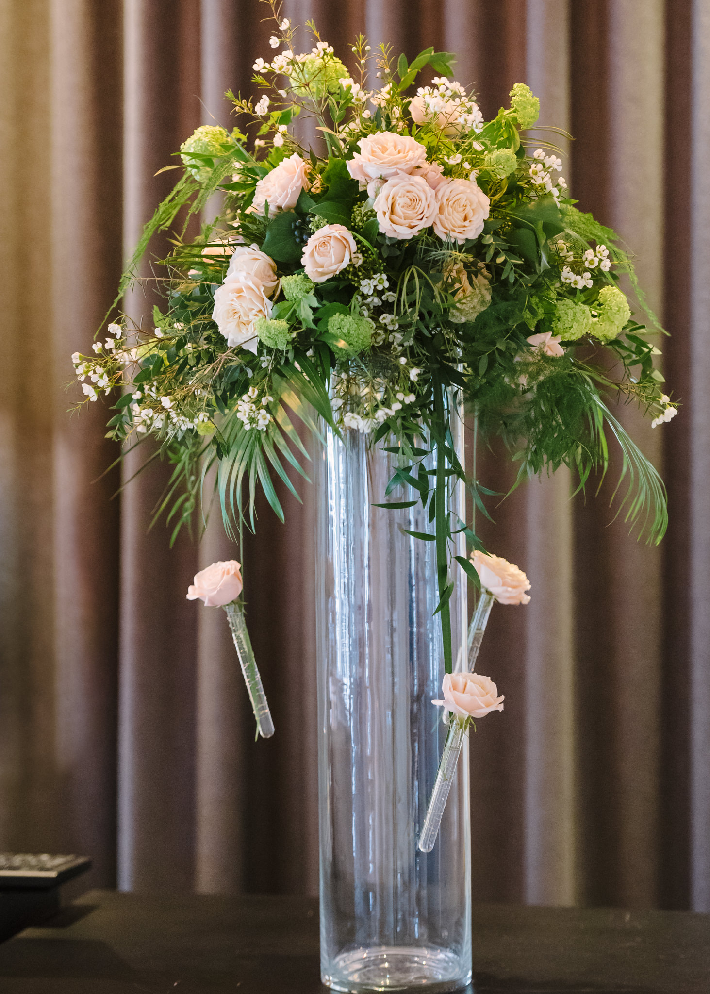 Tall event flowers