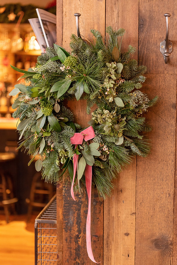 Greenery Christmas Wreath
