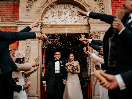 Intimate Winter Church Wedding in Kingston upon Thames & The Bingham Riverhouse in Richmond
