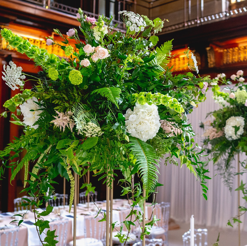 Flowers Merchant Taylors Hall