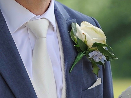 Groom's, Groomsmen, Usher and Dad's Buttonholes