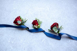 Buttonholes for the Boys who wore blue