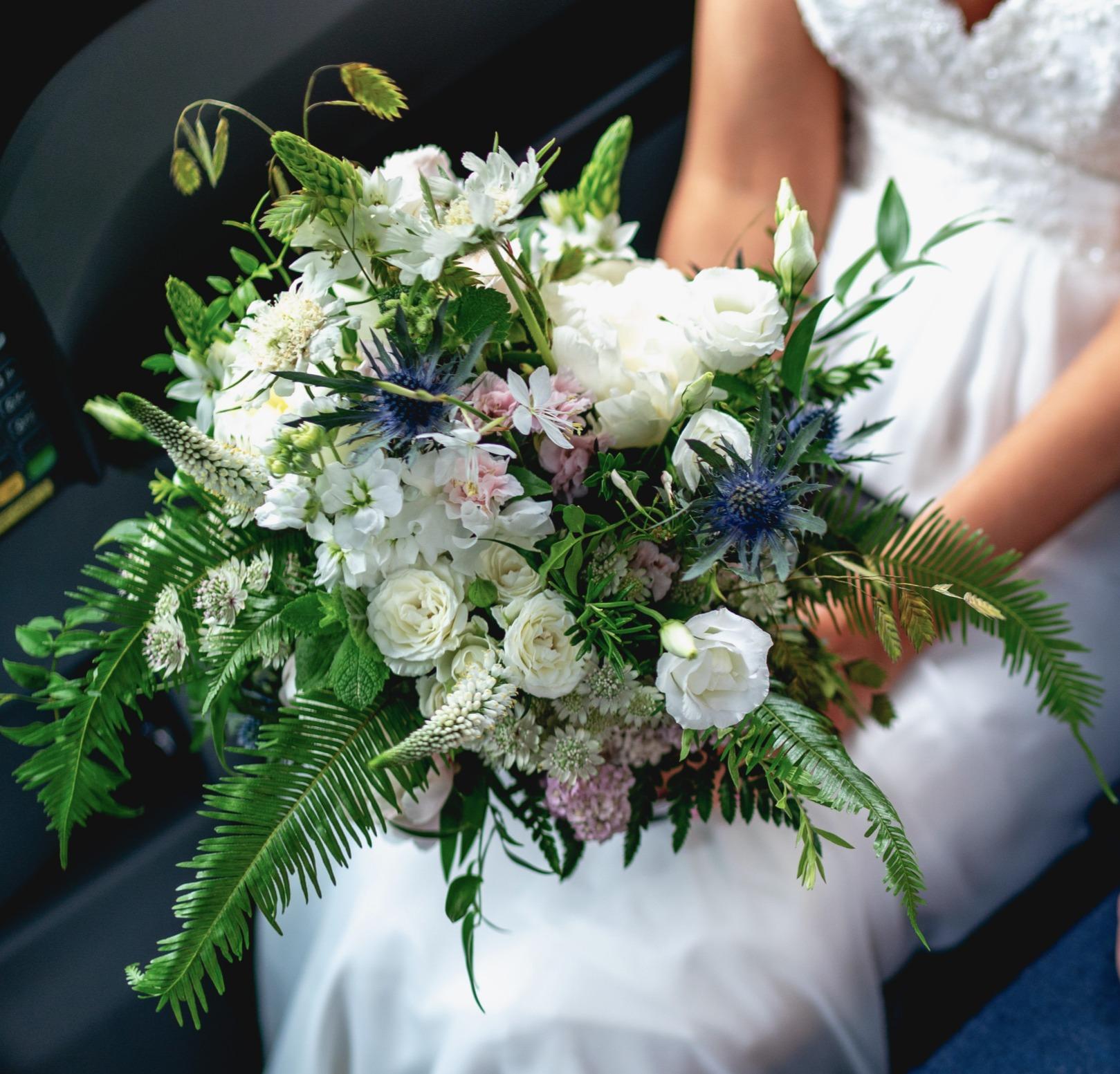 Bridal Bouquet July handtied