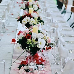 Wedding Table Arrangement Sheens