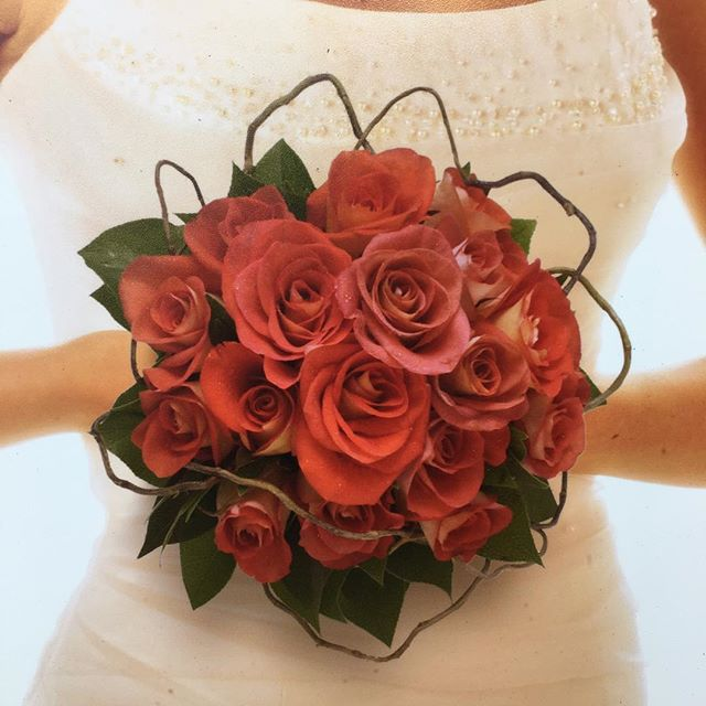 Bridal Bouquet of Leonidis Roses