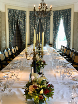 Table scape Petersham Hotel