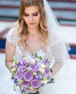 M Bridal bouquet