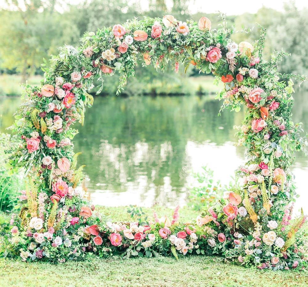 Wedding Flowers Moongate