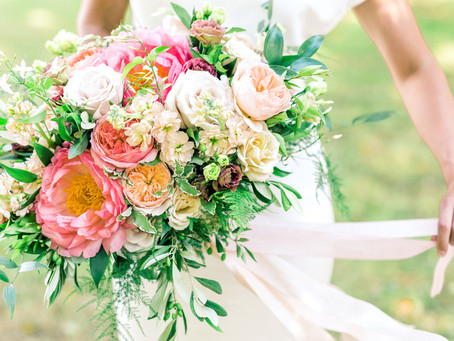 Prettiest Peonies Bridal & Bridesmaid Bouquets