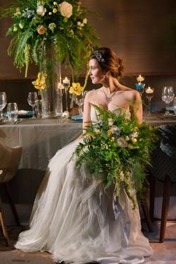 Styled Bridal shoot in Kingston