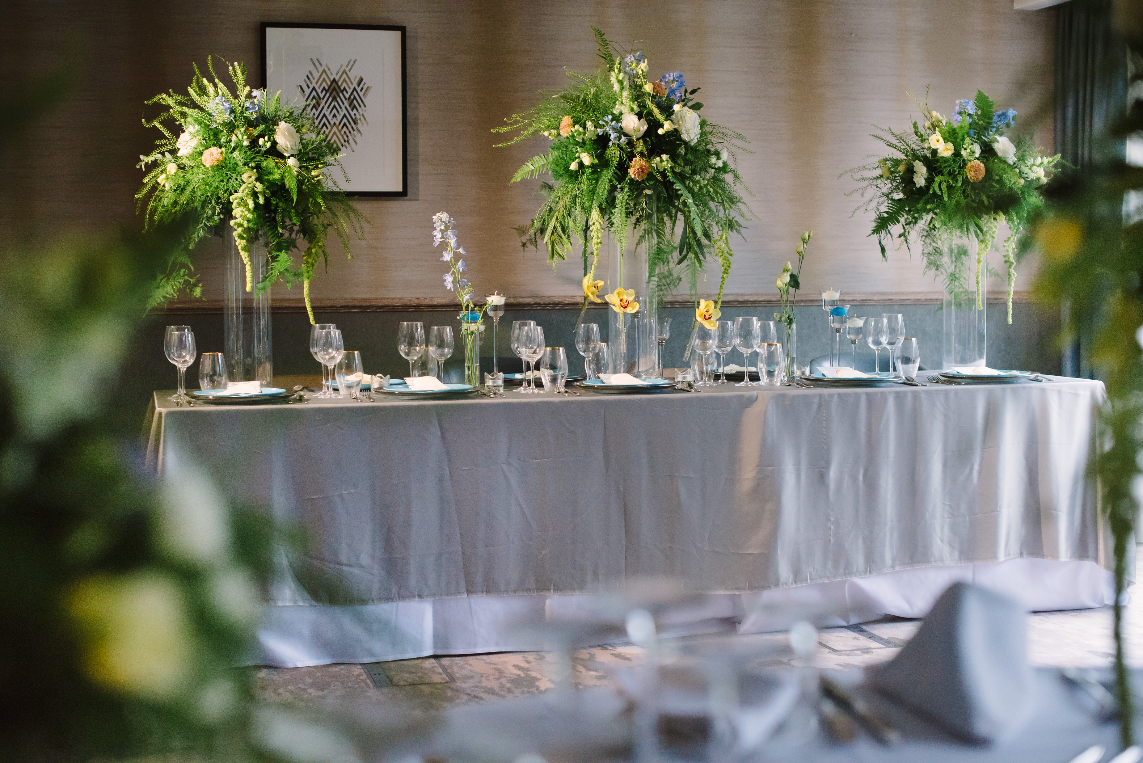 Tall table arrangements