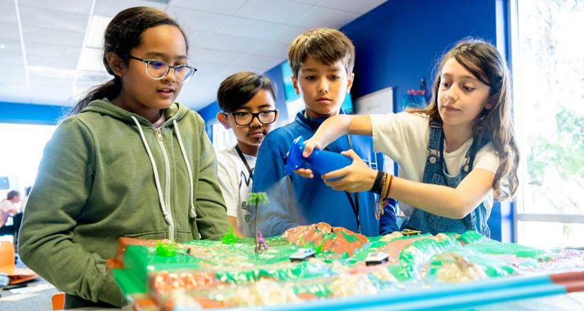 Kids in School Project