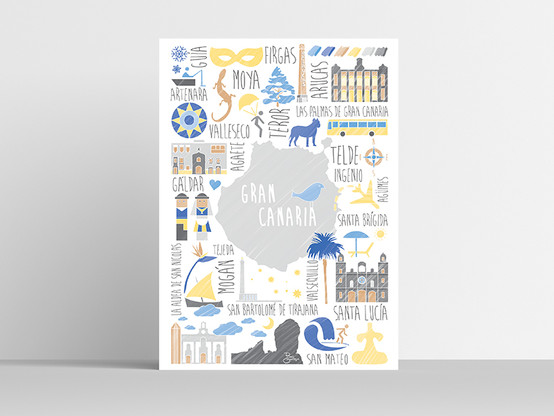 Gran Canaria municipios naíf