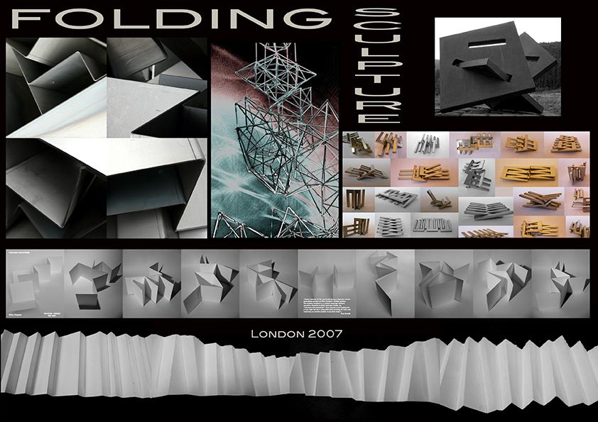 folding sculpture