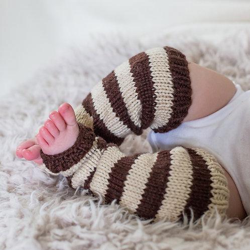 Striped Baby Legs