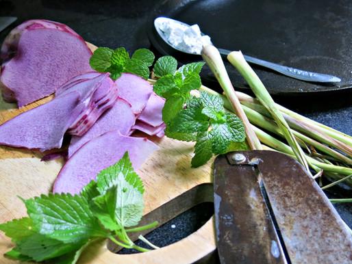 Chạo khoai tía ngon ngọt tự nhiên