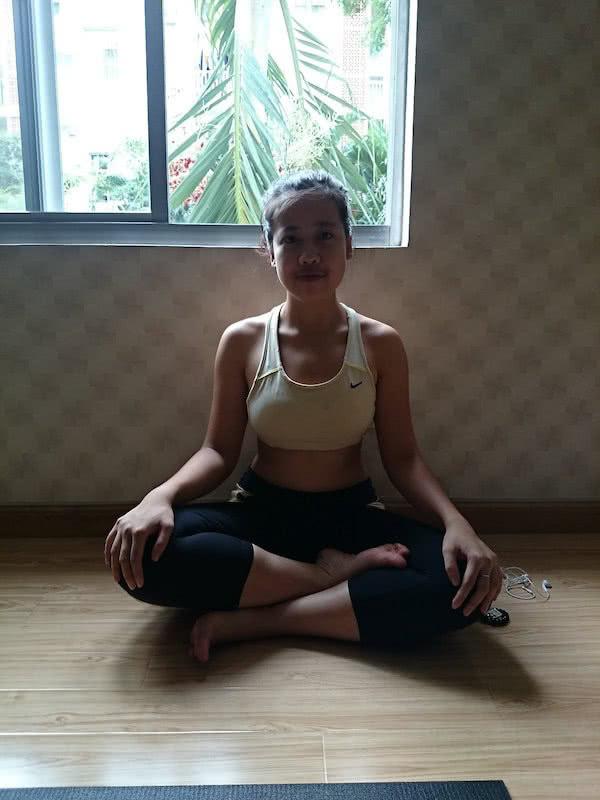 Nam Phương sau 6 tháng tập yoga