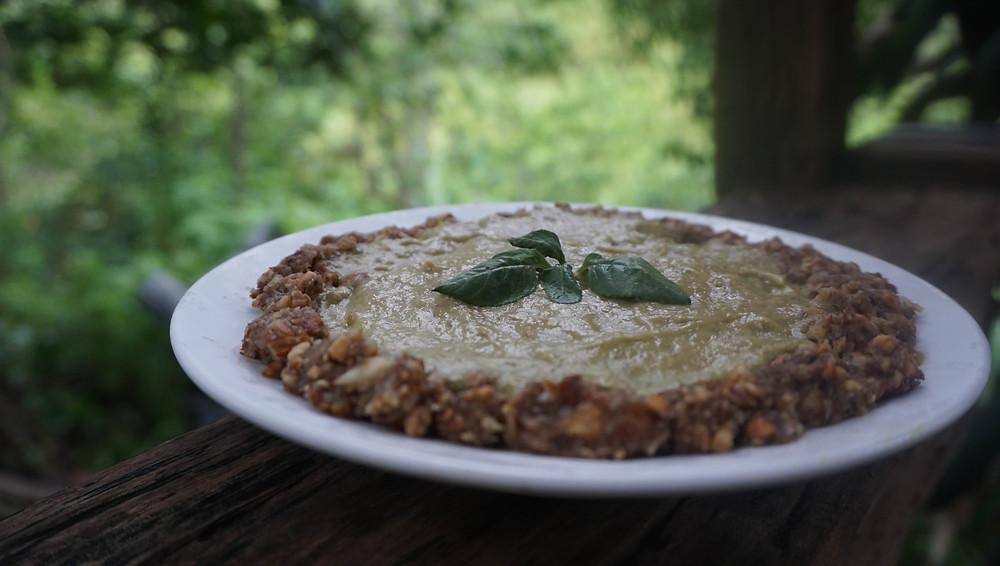 Bánh này thuần chay, không dầu, không lò, chỉ dùng đường trái cây - quá là lành mạnh