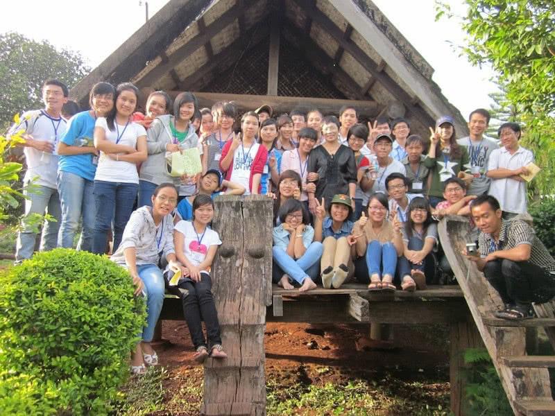 """Bộ lạc """"Diễn đàn tuổi trẻ Tây Nguyên"""" do tôi đồng sáng lập năm 2011 là sân chơi sáng tạo cho các bạn trẻ 5 tỉnh Tây Nguyên"""