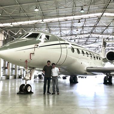 Hangar Líder - Aeroporto de Congonhas - 2019.