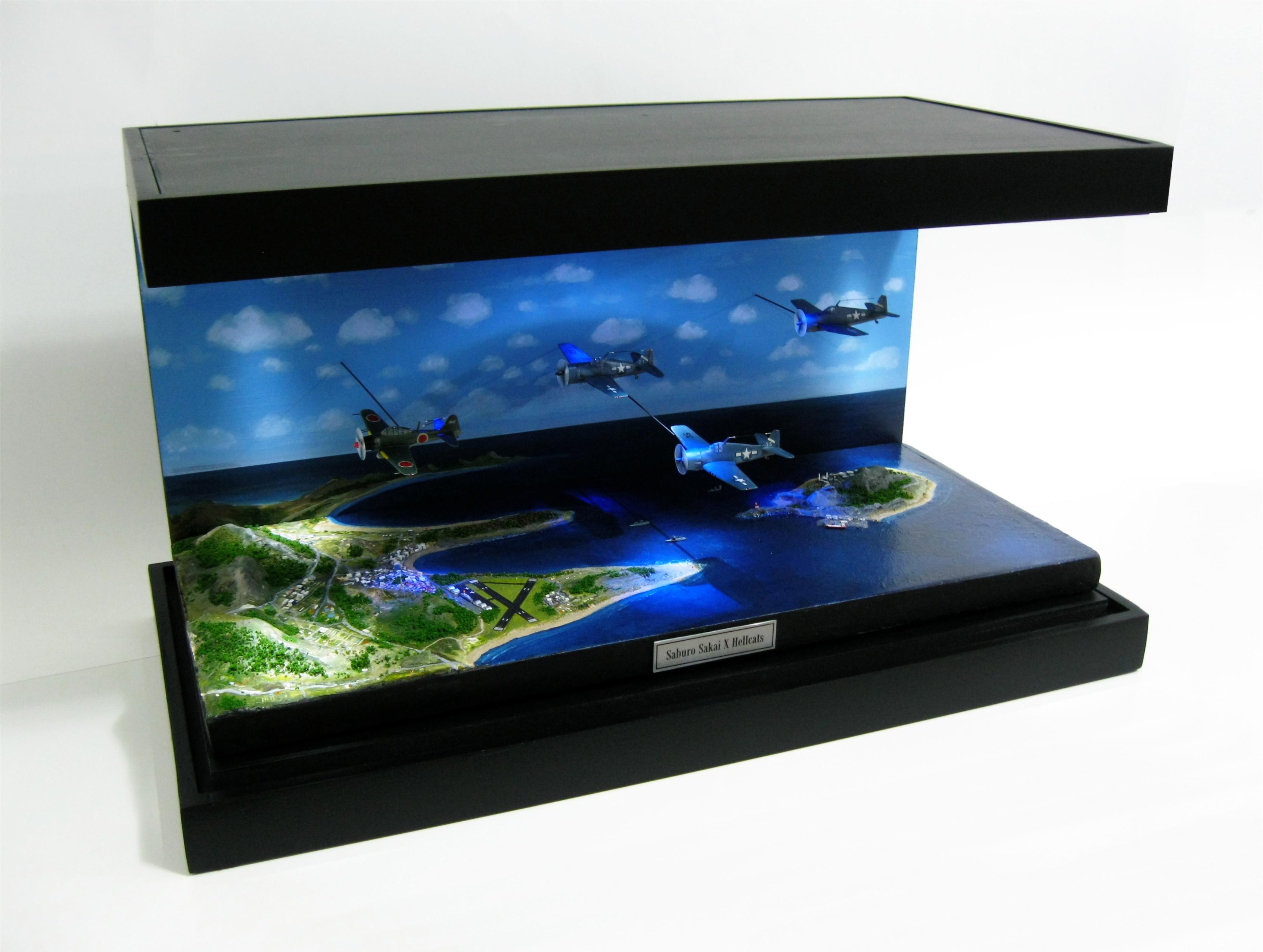 Saburo Sakai diorama