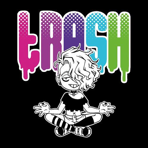 """""""Trash"""" vinyl sticker"""