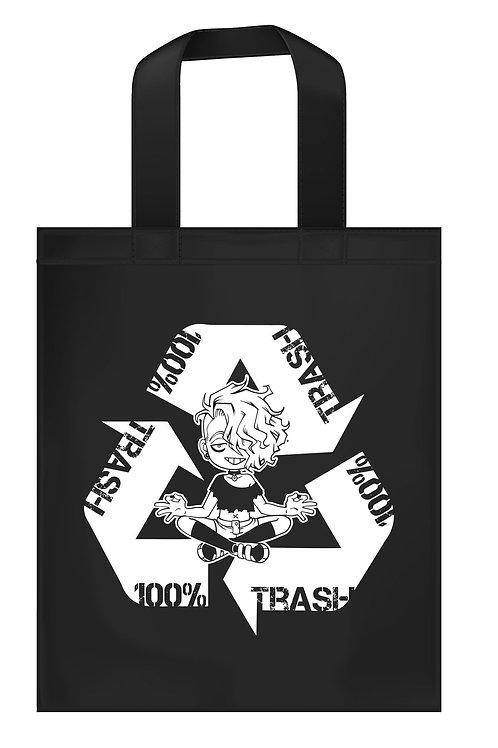 """Recycling Derek"" Canvas Bag"