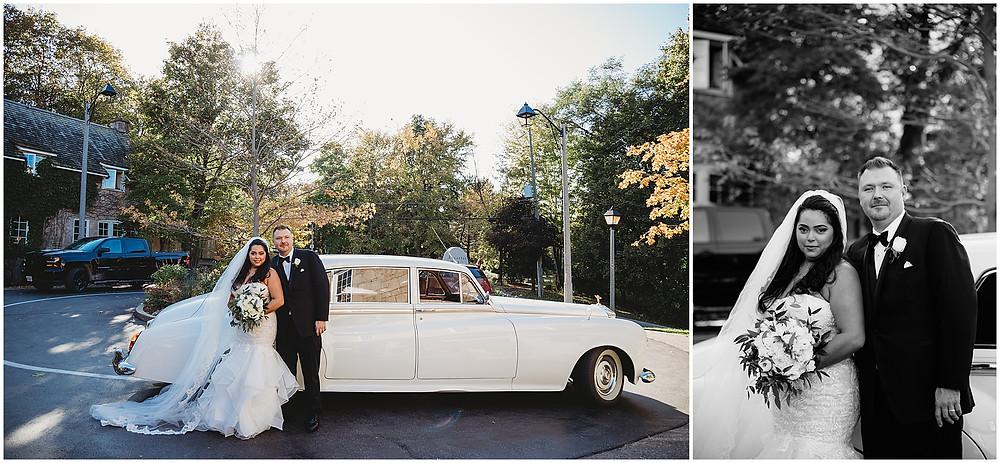 Ancaster Bridal Couple