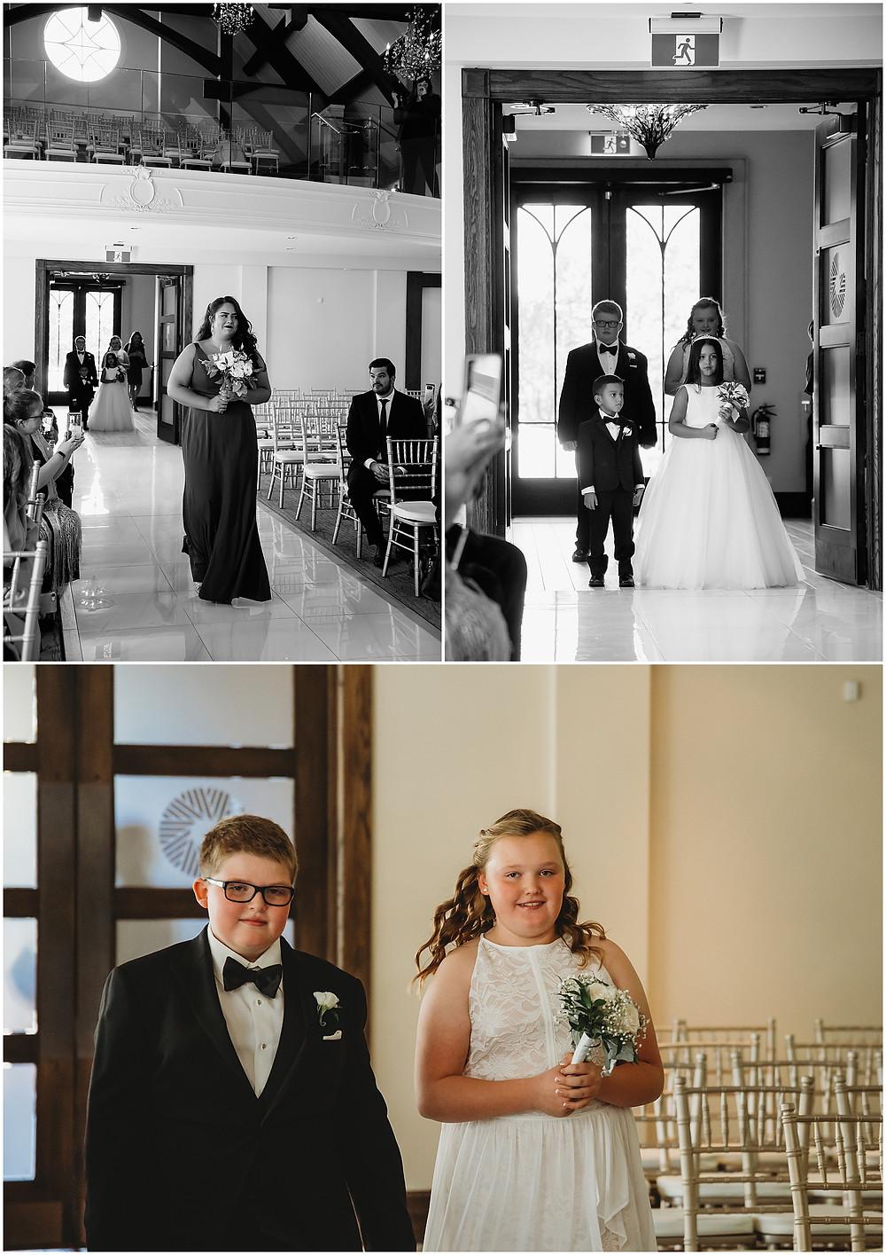 Ancaster Photographer Wedding Entrance