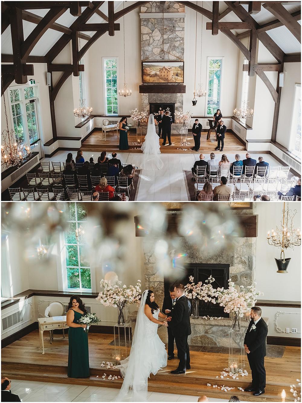 Ancaster Mill Indoor Chapel Wedding