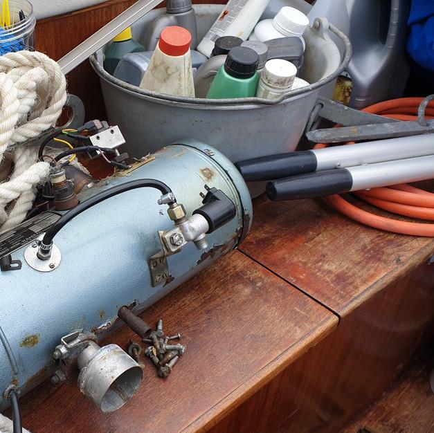 45 year old Webasto heater