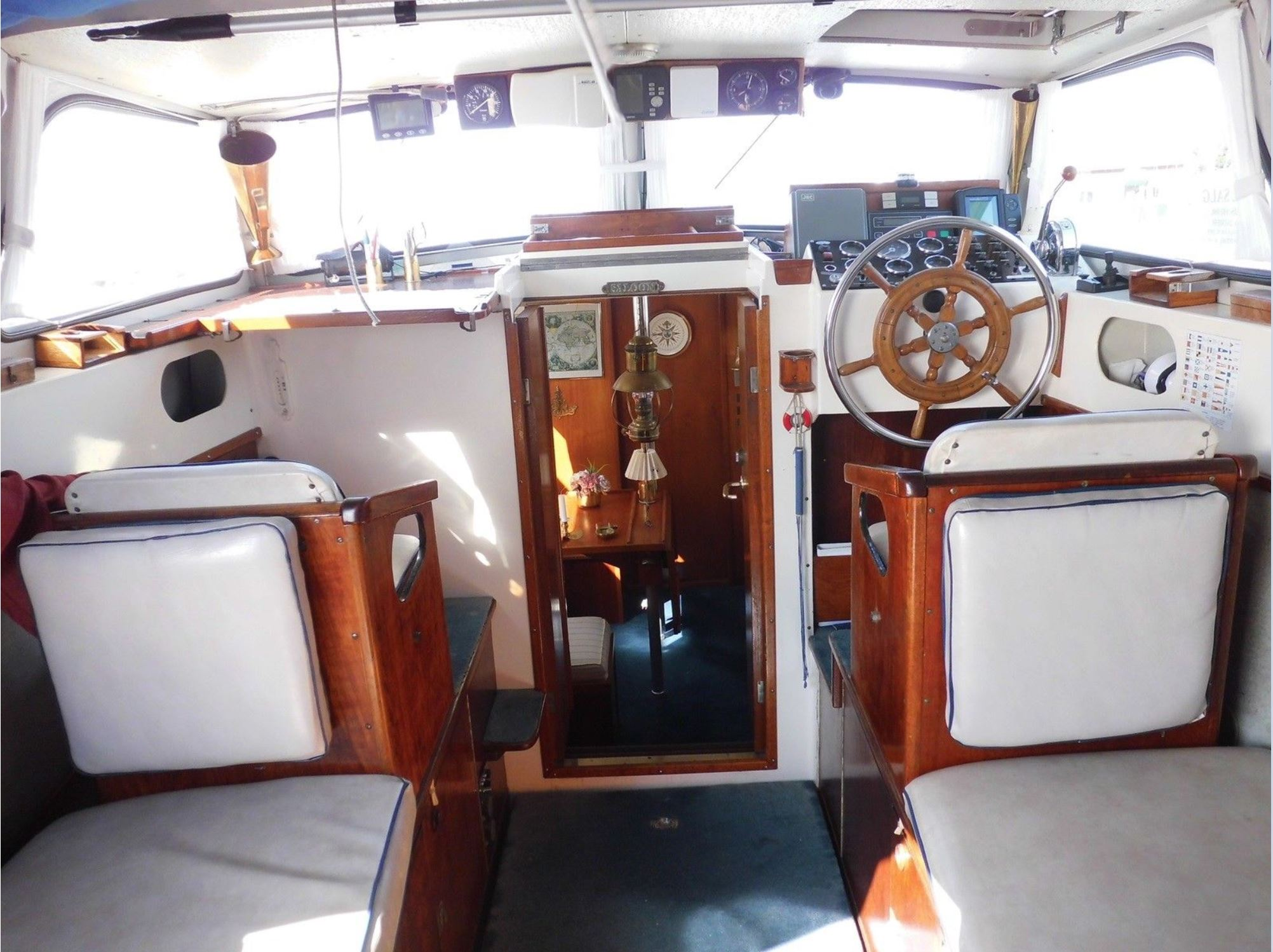 Finnsailer 35 Interior