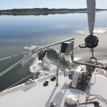 Crossing Galenes bow