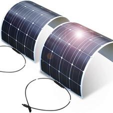 DOKIO 2 x 100 W (200 W) flexible solar panel