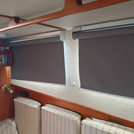 Starboard side... shades down ;-)