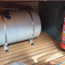 New fire extinguisher.