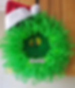 Grinch Wreath- Learn how to make wreaths