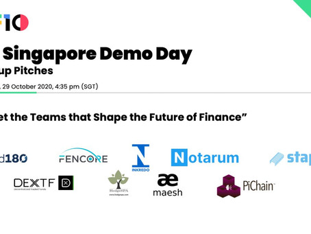 It's a wrap. F10 Singapore Demo Day.