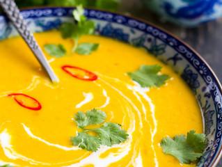 Thai Coconut Pumpkin Soup
