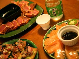 Family Sashimi Night!!