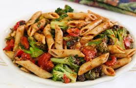 Steamed Broccoli with Tomato Ragout